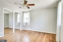 Master bedroom - 5944 10TH RD N, ARLINGTON