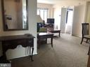 Entry to bright living room - 1711 MASSACHUSETTS AVE NW #803, WASHINGTON