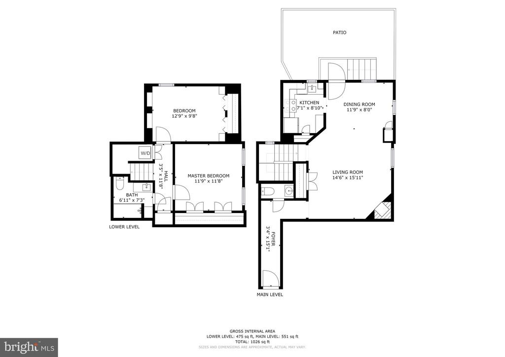 Floorplan - 1813 16TH ST NW #1B, WASHINGTON