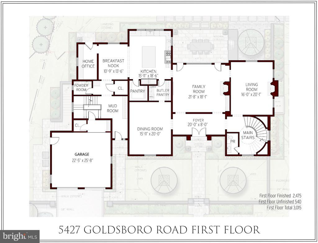 1st Floor - 5427 GOLDSBORO RD, BETHESDA