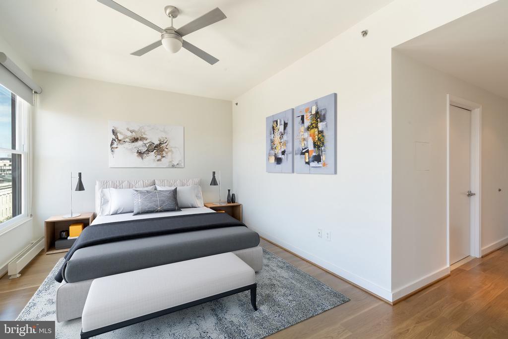 Master bedroom - 675 E ST NW #900, WASHINGTON
