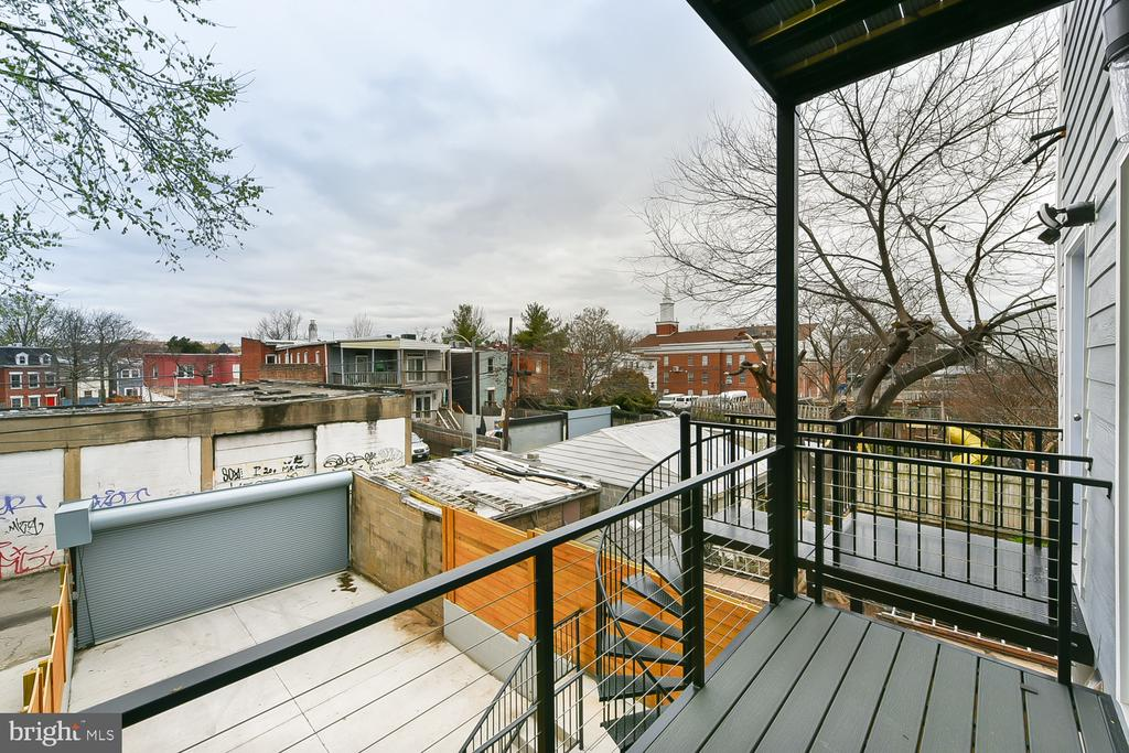 Second Floor Master Balcony - 1167 MORSE ST NE #2, WASHINGTON