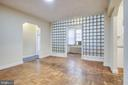 Living room - 5220 N CAPITOL ST NW #109, WASHINGTON