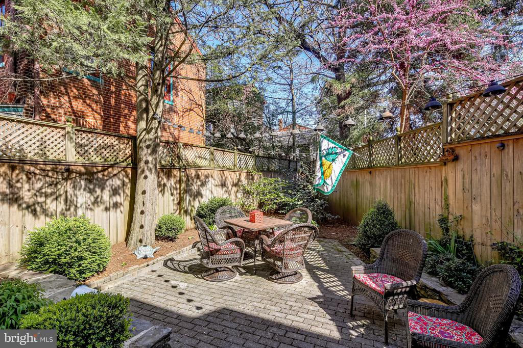 Patio area - perfect for entertaining & dining - 61 COLLEGE AVE, ANNAPOLIS