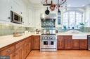 Gourmet Kitchen with high end appliances - 61 COLLEGE AVE, ANNAPOLIS