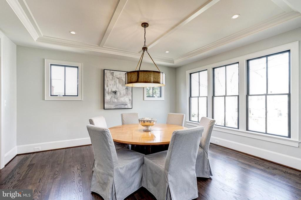 Versatile dining or living rooms,  office or den - 4856 33RD RD N, ARLINGTON