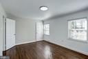 third upstairs bedroom with private bath - 4856 33RD RD N, ARLINGTON
