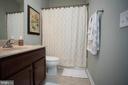 Main level has a full bath - 26 WAGONEERS LN, STAFFORD