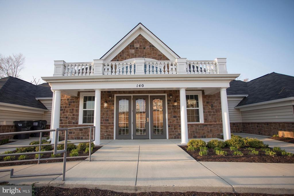 Entrance to Club House - 26 WAGONEERS LN, STAFFORD