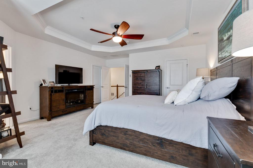 Master Suite with Dual Walkin Closets - 455 KORNBLAU TER SE, LEESBURG