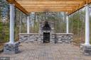 Just under 600 sf patio w/pergola,  brick oven - 6488 SOUTHFORK LN, LOCUST GROVE