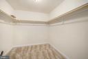 Master Bedroom Walk in closet - 6488 SOUTHFORK LN, LOCUST GROVE