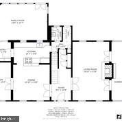 Floorplan-Main Level - 6320 BALTIMORE AVENUE, UNIVERSITY PARK