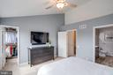 Master suite w/ private bath & w/i closet - 7506 SHIRLEY HUNTER WAY, ALEXANDRIA