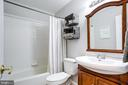 Updated hall full bath - 7506 SHIRLEY HUNTER WAY, ALEXANDRIA