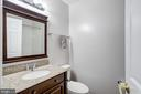 3rd renovated full bath in lower level - 7506 SHIRLEY HUNTER WAY, ALEXANDRIA