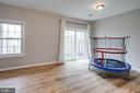 Spacious recreation room w/ walk out to yard - 7506 SHIRLEY HUNTER WAY, ALEXANDRIA