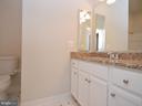 Main Level Full Bath w/Granite Vanity - 42764 RIDGEWAY DR, BROADLANDS