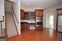 Rear Staircase off Kitchen & Planning Desk - 42764 RIDGEWAY DR, BROADLANDS