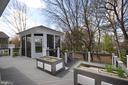 Tiered Trex Deck & Gazebo w/Mature Trees - 42764 RIDGEWAY DR, BROADLANDS
