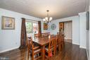 Formal Dining Room or can make a living room - 1015 MAGOTHY PARK LN, ANNAPOLIS