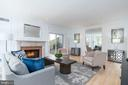 Living room - 4522 FOXHALL CRES NW, WASHINGTON