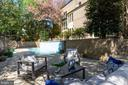 Pool deck - 4522 FOXHALL CRES NW, WASHINGTON