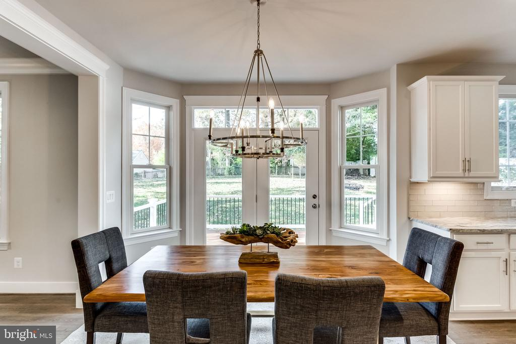 BREAKFAST NOOK - 3129 CHICHESTER LN #3, FAIRFAX
