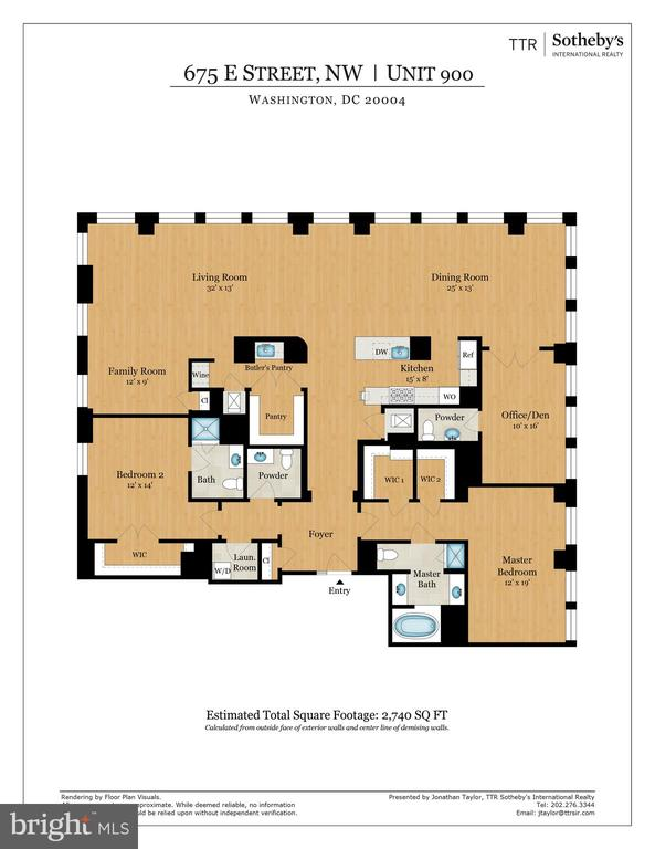 Floor plan - 675 E ST NW #900, WASHINGTON