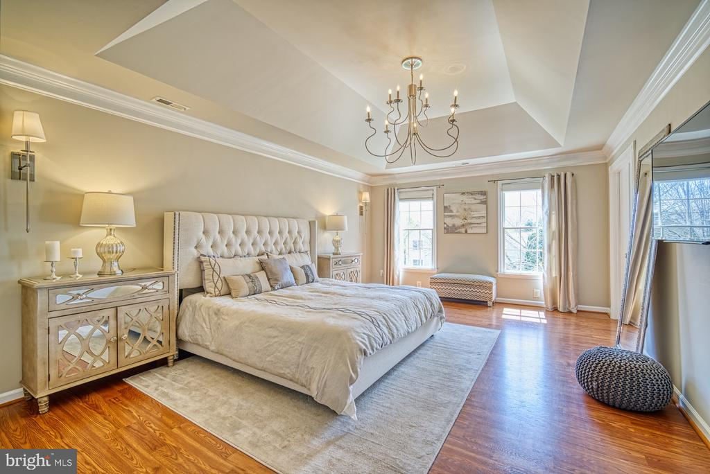 MASTER SUITE WITH TRAY CEILING - 10896 HUNTER GATE WAY, RESTON