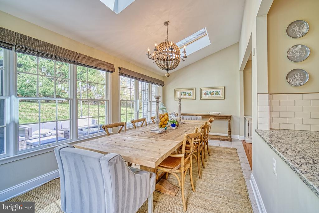 SUNROOM ADDITION USED FOR DINING - 10896 HUNTER GATE WAY, RESTON