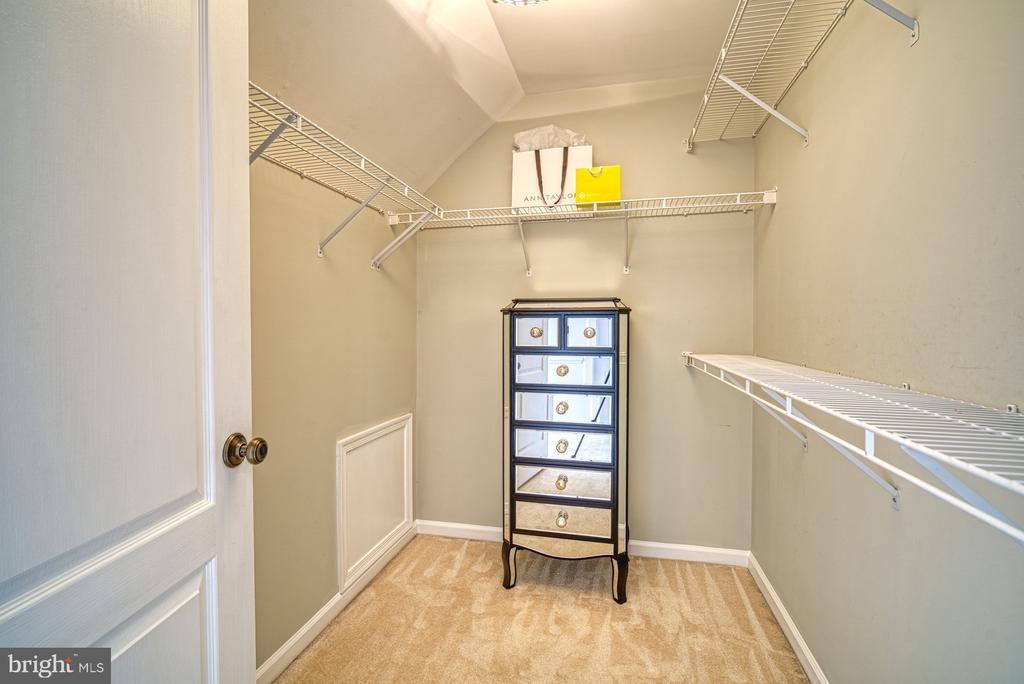 WALK IN CLOSET FOR BEDROOM #5 - 10896 HUNTER GATE WAY, RESTON