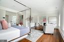 Master suite with natural light, 2 seating areas - 3301 FESSENDEN ST NW, WASHINGTON