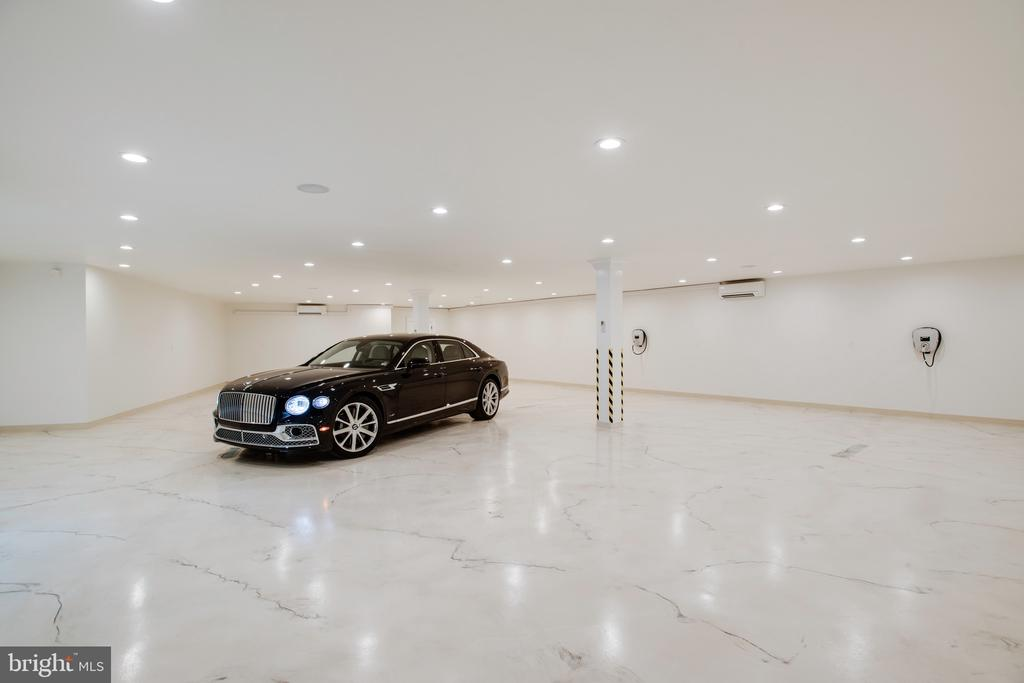 Underground garage with cameras and charging - 3301 FESSENDEN ST NW, WASHINGTON