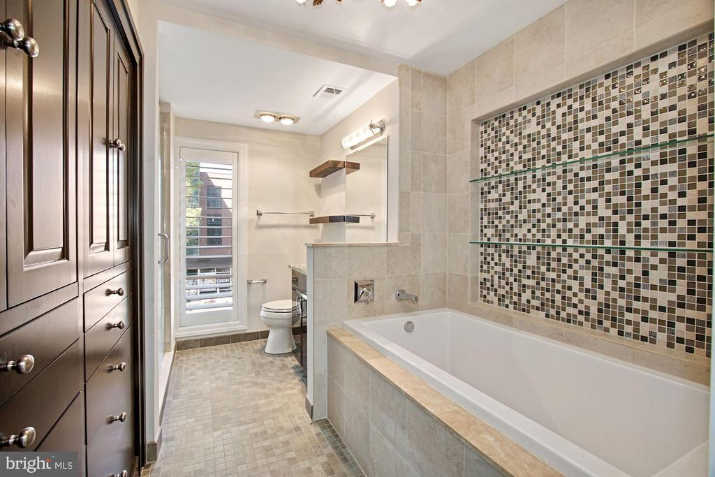 Relax in the spa-like bathroom - 4822 HAMPDEN LN #R-6, BETHESDA