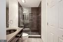 Secondary bathroom - 4822 HAMPDEN LN #R-6, BETHESDA