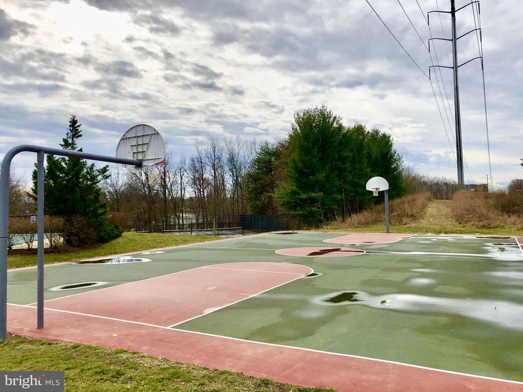 Community Basketball Court - 7506 SHIRLEY HUNTER WAY, ALEXANDRIA