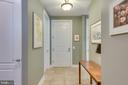 Entry foyer - 1915 TOWNE CENTRE BLVD #410, ANNAPOLIS