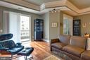 Lovely balcony off living room - 1915 TOWNE CENTRE BLVD #410, ANNAPOLIS