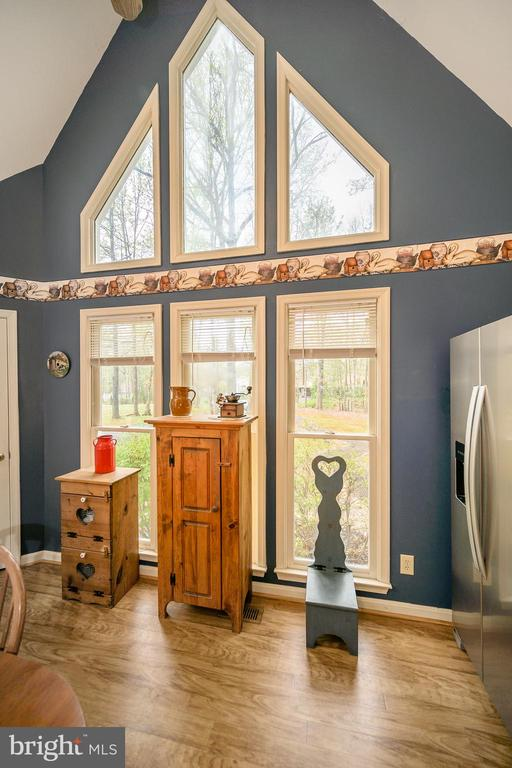 Wow Window Wall  for dreamers & nature lovers - 11709 WILDERNESS PARK DR, SPOTSYLVANIA