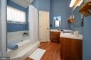 Master Bath jet tub & shaving sink - 11709 WILDERNESS PARK DR, SPOTSYLVANIA