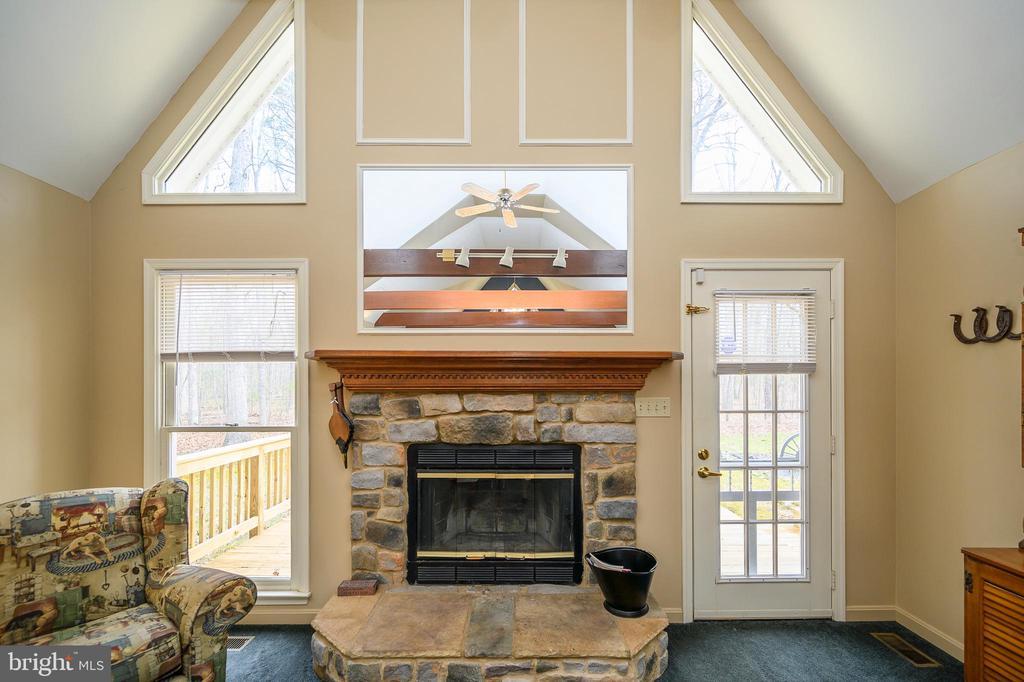 Focal Point & Heart of the Home - 11709 WILDERNESS PARK DR, SPOTSYLVANIA