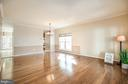 Crown molding and chair rail accent this space - 46 WILTSHIRE DR, STAFFORD
