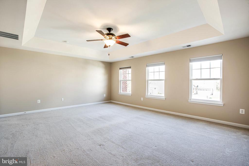 Spacious master suite with bright windows - 46 WILTSHIRE DR, STAFFORD