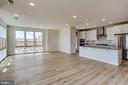 Living Room/ Dinning Room - 11200 RESTON STATION BLVD #501, RESTON