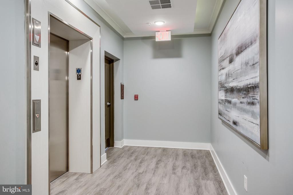 Building Hallway/Elevater - 11200 RESTON STATION BLVD #501, RESTON