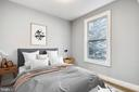 Virtually staged second bedroom - 1412 CHAPIN ST NW #203, WASHINGTON