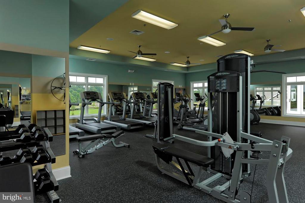 Exercise Room - 23526 NEERSVILLE CORNER TER, ASHBURN