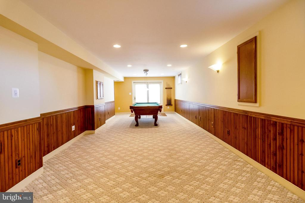 Rec Room with Walk Out - 1508 JUDD CT, HERNDON