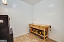 Workshop and another storage room off bonus space - 6055 PONHILL DR, WOODBRIDGE